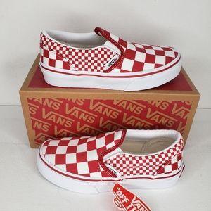 Vans Classic Slip-on Checkerboard Toddler